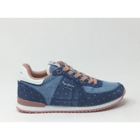 Chaussures Baskets basses Pepe jeans SYDNEY TOPOS DENIM bleu