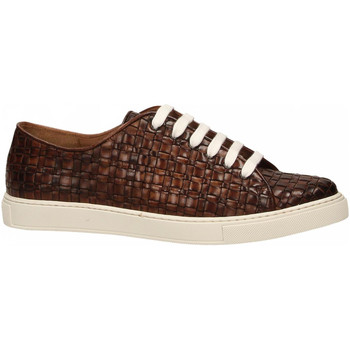 Chaussures Homme Baskets basses Brecos VITELLO brandy