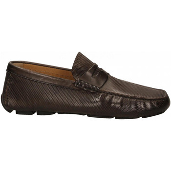 Chaussures Homme Mocassins Brecos VITELLO cioccolato