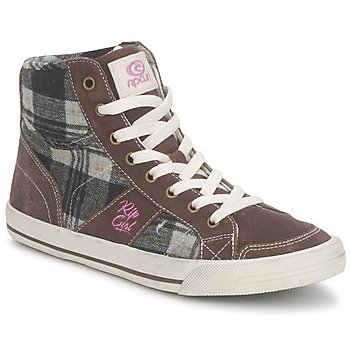 Chaussures Femme Baskets montantes Rip Curl BETSY HIGH Marron