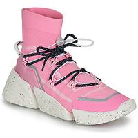 Chaussures Femme Baskets montantes Kenzo K SOCK SLIP ON Rose
