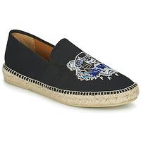 Chaussures Homme Espadrilles Kenzo ESPADRILLE ELASTIQUE TIGER HEAD Noir