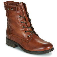 Chaussures Femme Boots Dream in Green NELATINE Cognac