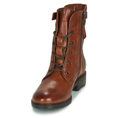 In Boots Femme Dream Cognac Ervane Green j5R34ALq