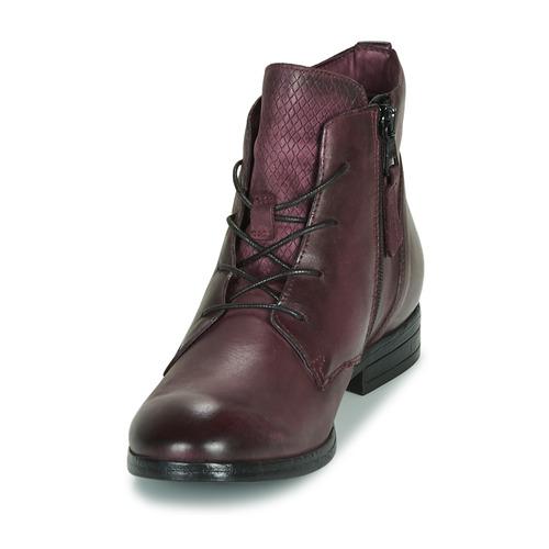 Dream Lampedi Femme In Chaussures Boots Green Bordeaux 8wO0Pkn