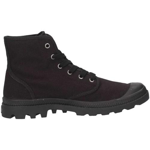 Homme Chaussures Baskets Pacal0002canvas P060 Montantes Palladium Noir xQrdeWBCoE