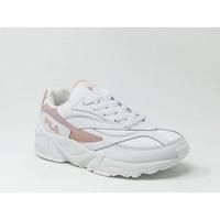 Chaussures Baskets mode Fila VENOM LOW BLANC/ROSE rose