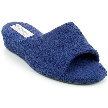 Chaussures Femme Chaussons Cristina CRISTINA11.06_35 Bleu