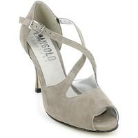 Chaussures Femme Sandales et Nu-pieds L'angolo 2136C.09_35 Beige