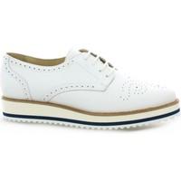 Chaussures Femme Derbies Exit Derby cuir Blanc