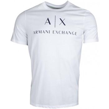 T-shirt Armani T-shirt Exchange blanc pour homme