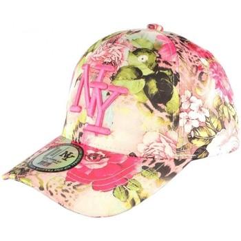 Accessoires textile Fille Casquettes Hip Hop Honour Casquette Enfant Rose et Beige Spring de 7 à 12 ans Rose
