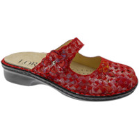 Chaussures Femme Mules Calzaturificio Loren LOM2709ro rosso