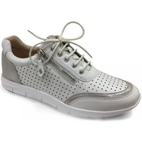 Chaussures Femme Baskets basses Caprice Basket Confort Blanche blanc