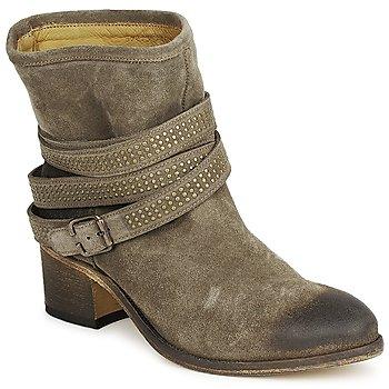 Bottines / Boots Atelier Voisin FEW DAIM Taupe 350x350