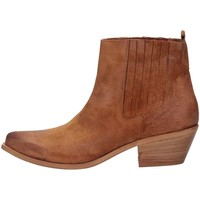 Chaussures Femme Bottines Cube 201 CAMOSCIO CUOIO cuir