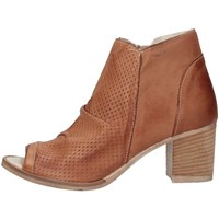 Chaussures Femme Bottines Made In Italia 0308 CUOIO Marron