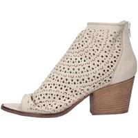 Chaussures Femme Bottines Metisse SP811 NABUK BIANCO blanc