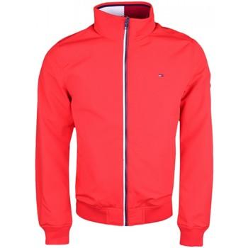 Vêtements Homme Coupes vent Tommy Jeans Blouson bomber  rouge pour homme Rouge