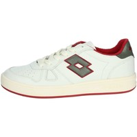 Chaussures Homme Baskets basses Lotto 211140 Blanc/Rouge