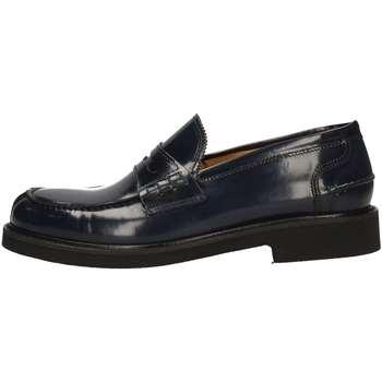 Chaussures Homme Mocassins Hudson 334 BLEU