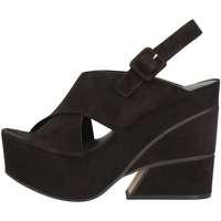 Chaussures Femme Sandales et Nu-pieds Elvio Zanon EJ0702 NOIR