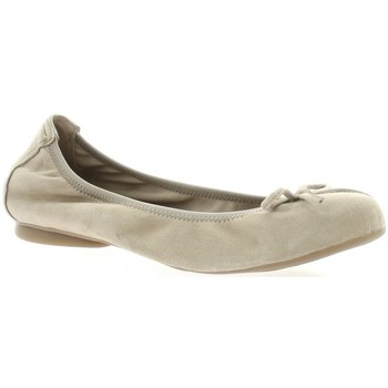 Chaussures Femme Ballerines / babies Latina Ballerines cuir velours  sable Sable