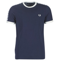 Vêtements Homme T-shirts manches courtes Fred Perry TAPED RINGER T-SHIRT Marine