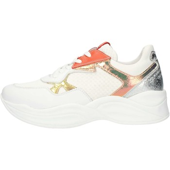 Chaussures Femme Baskets basses Nero Giardini P907823D Blanc et orange