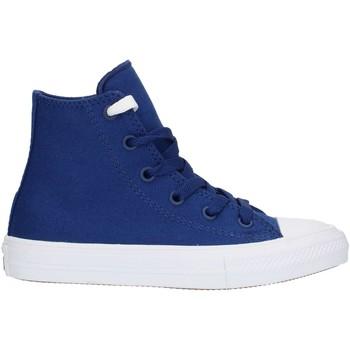 Chaussures Baskets montantes Converse 35014 bleu