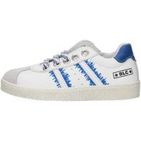 Chaussures Garçon Baskets basses Balocchi 491699 Blanc et bleu
