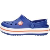 Chaussures Enfant Sabots Crocs 204537 Bleu et orange