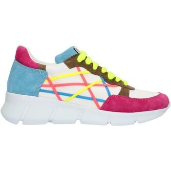 Chaussures Femme Baskets basses L4k3 05LEG Fuxia bleu