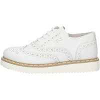 Chaussures Fille Derbies Nero Giardini P732110F blanc