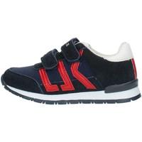 Chaussures Garçon Baskets basses Lumberjack SB47505 Bleu et rouge