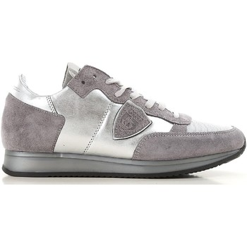 Chaussures Femme Baskets basses Philippe Model TRLD ME02 argento