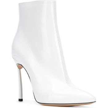 Chaussures Femme Boots Casadei 1Q618L100TRAIN900 bianco