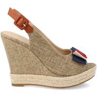 Chaussures Femme Espadrilles Ainy D8536 Beige