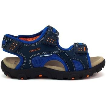 Chaussures Enfant Sandales sport Geox JR Strada Bleu marine