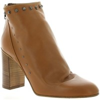 Chaussures Femme Bottines Giancarlo Boots cuir Camel