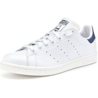 Chaussures Homme Baskets basses adidas Originals STAN SMITH BIANCO BLU Blanc