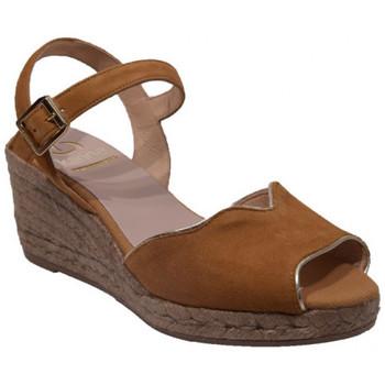 Chaussures Femme Sandales et Nu-pieds Kanna 19kv9214 Marron