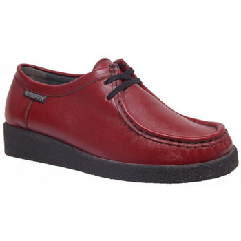 Chaussures Femme Derbies Mephisto christy rouge