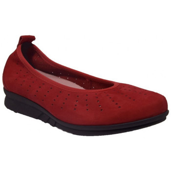 Chaussures Femme Ballerines / babies Hirica polly rouge