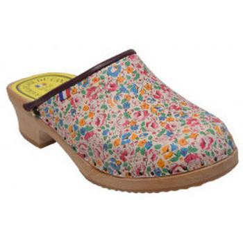 Chaussures Femme Mocassins Galoche Cantal sabot Multicolor