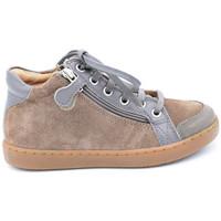 Chaussures Garçon Boots Shoo Pom play hi bi zip Gris