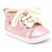 Chaussures Fille Boots Shoo Pom bouba zippy Rose