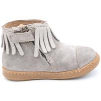 Chaussures Fille Boots Shoo Pom bouba fringe Beige