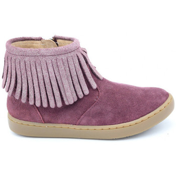 Chaussures Fille Boots Shoo Pom play fringe rose