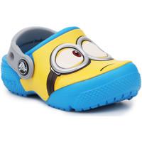 Chaussures Enfant Sabots Crocs Crocsfunlab Minions Clog 204113-456 żółty, niebieski
